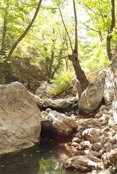 Patsos Gorge in Rethymno, Crete ©Eleni Psyllaki