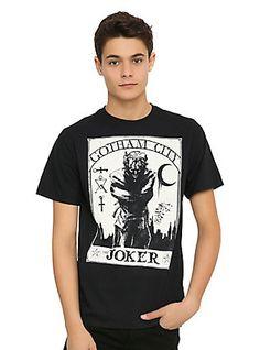 DC Comics Batman The Joker Tarot T-Shirt,