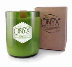 Cherry Pipe Tobacco Scented  10 oz. Soy Wax Candle by OnyxExchange, $25.00