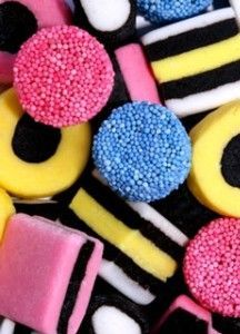 Licorice-my favorite candy.