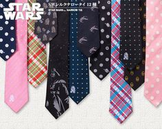 Star Wars Skinny Ties: The Hipsters Strike Back