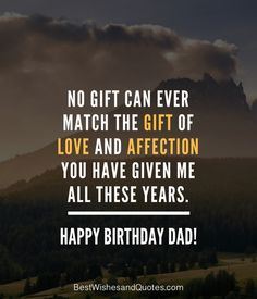 Choose from more than 40 quotes and messages for all types of dads and say happy birthday dad in a way that he will never ever forget. Happy Birthday Dad Messages, Father Birthday Quotes, Birthday Message For Father, Dad Birthday Wishes, Happy Birthday Captions, Happy Birthday Daddy, Message For Dad, Fathers Day Quotes, Girlfriend Birthday