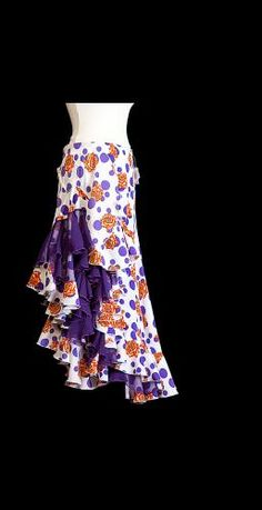Handmade Flamenco Skirt