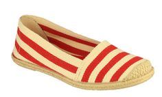 Cotswold Baunton Ladies Canvas Espadrille Slip On Casual Shoe - Robin Elt Shoes  http://www.robineltshoes.co.uk/store/search/brand/Cotswold-Ladies/ #Spring #Summer #SS14 #2014