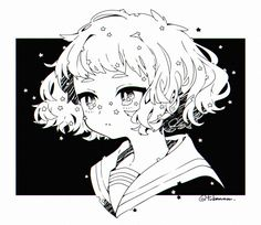 Anime Drawings Sketches, Cute Drawings, Anime Sketch, Manga Drawing, Aesthetic Anime, Aesthetic Art, Arte Emo, Cute Art Styles, Art Anime