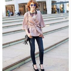 The Middle Page Breast Cancer Survivor, Fashion Beauty, Plus Fashion, The Middle, Suede Jacket, All Things Beauty, Bell Sleeve Top, Style Inspiration, Lifestyle