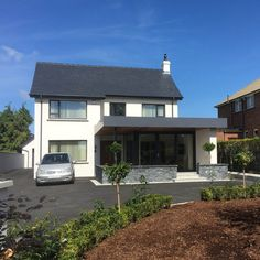 Church Road, Portadown — Paul McAlister Sustainable and Passive House Architects - Portadown, Belfast, Northern Ireland Modern Family, Home And Family, Family Dining Rooms, Passive House, Architect House, Belfast, Northern Ireland, Sustainability, House Plans