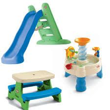 Backyard Bundle from Little Tikes: Slide, Water Table, Picnic Table $169  http://crayonsandcoupons.com/little-tikes-backyard-bundle Affiliate LInk