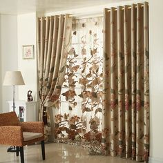 The best curtains for living room and curtain designs with you in these photos.