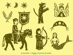 Armoribat, Iconografia do Movimento Armorial