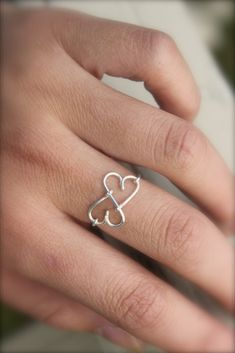 Infinity Heart Ring                                                                                                                                                                                 More