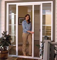 Retractable Screen Door Series House Pinterest