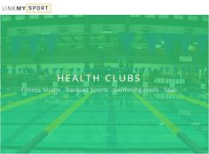 LinkMySport startup brings fitness industry to you in 15 Minutes Racquet Sports, Fitness Studio, Health Club, Swimming Pools, Bring It On, Industrial, Tech, Swiming Pool, Gym