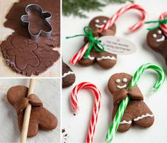Upside Down Gingerbread Man Reindeer Cookies Recipe | The WHOot