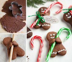 Upside Down Gingerbread Man Reindeer Cookies Recipe | The WHOot
