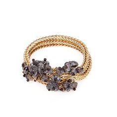 Zorya - Inspired by viruses, jewelry designers grow crystals on rope