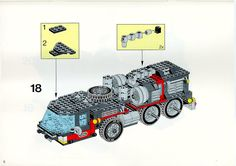 LEGO 5590 Whirl and Wheel Super Truck instructions displayed page by page to help you build this amazing LEGO Model Team set Lego Basic, Lego Sets, Lego Models, Lego Instructions, Cool Lego, Toys For Boys, Kids And Parenting, Planer, Dragon Ball