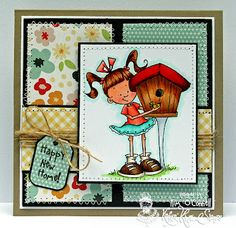 Paper Perfect Designs by Kim O'Connell - Kraftin' Kimmie Springtime Lulu stamp set