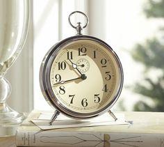 Vintage alarm clock: Charleston Vintage Clock | Pottery Barn
