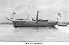 """USS Fuschia (named for the flower, not the color.) An amazingly potent little ship. She single-handedly patrolled several hostile waterways with very little help on a number of occasions, and packed a mean punch for such a tiny package. Porter called her """"A handy little ship."""""""