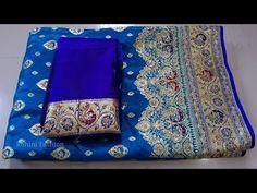 Blouse Designs High Neck, Back Neck Designs, Saree Blouse Designs, Saree Styles, Blouse Styles, Silk Saree Banarasi, Indian Flowers, Stylish Blouse Design, Fashion Vocabulary