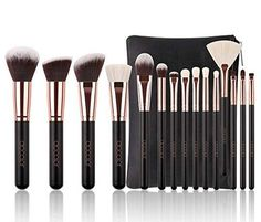 online shopping for Luxury 15 pc Rose Gold Makeup Brush Set Natural Hair Premium Bag from top store. See new offer for Luxury 15 pc Rose Gold Makeup Brush Set Natural Hair Premium Bag Diy Makeup Brush, Best Makeup Brushes, It Cosmetics Brushes, Cosmetic Brushes, Beauty Products Gifts, Amazon Beauty Products, Best Makeup Products, Rose Gold Brush Set, Blush Brush