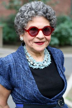 """A good pair of sunglasses is better than a face lift."" Mary (70)"