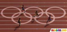 Pada putaran pertama lari 400m pria, Pistorious berhasil berlari di tempat ke 2 tepat di belakang atlet asal republik Dominika Luguelin Santos (04/08).