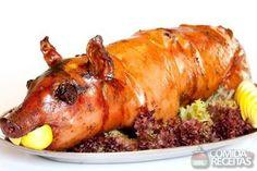 Receita de Leitão assado em receitas de carnes, veja essa e outras receitas aqui!