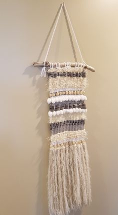First attempt at weaving!