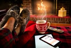 "How can you create workplace hygge and improve the winter experience? Hygge is, pardon the pun, the new ""hot"" solution… E Dublin, Ohio, Cheap Home Decor, Home Decoration, Itunes, Home Improvement, Good Things, Simple Things, Happy Things"