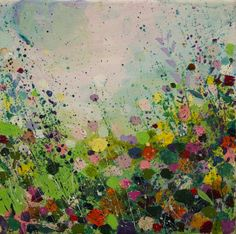 ARTFINDER: Midsummer II by Sandy Dooley - Abstracted, impressionist painting