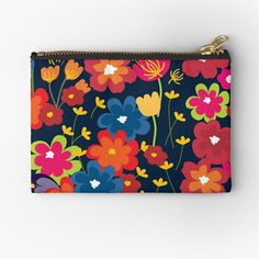 Visit my Red Bubble Shop for more designs Blue Backgrounds, Zipper Pouch, Zip Around Wallet, Finding Yourself, Bubbles, Patterns, Floral, Shop, Red