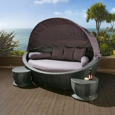 Outdoor Loungemöbel lounge-möbel-outdoor-interessante-liegestühle | balkon | pinterest