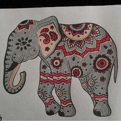 Lovely elephant @amorpazrespeto Elephant Family Tattoo, Elephant Quotes, Elephant Tattoos, Embroidery Patterns Free, Zentangle Patterns, Cross Stitch Patterns, Abstract Embroidery, Embroidery Tattoo, Elephant Photography