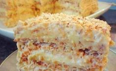 EGYPTIAN CAKE of delicious cakes with photo to cook for Christmas Ingredients: Dough on a cake (of 3 cakes): ✔ 3 x 3 protein ✔ Russian Cakes, Russian Desserts, Russian Recipes, Food Cakes, Cupcake Cakes, Cake Recipes, Dessert Recipes, Easy Cake Decorating, Sweet Cakes