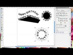 Inkscape putting text on a path and converting the cut file for scanncut in canvas
