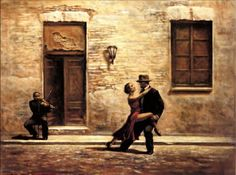 unknown artist just one violin by hamish blakely painting