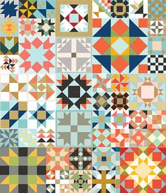 This post is all about knowing where we are going with making Block Friday Quilt Blocks, so I'm writing this article to give everyone some options regarding your Block Friday Settings. Choose a traditional setting if you prefer or use one of the three designs illustrated below.