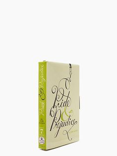 pride & prejudice book clutch - Kate Spade New York