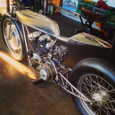 Supercharged Ironhead by Hazan Motorworks