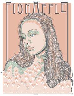 Fiona Apple concert poster