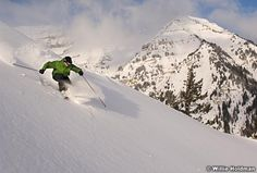 Look at that powder! Sundance Resort is 15 miles from the Utah Valley Convention Center  #skiing #sundance #uvcc