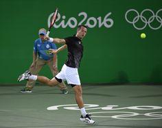 Kohlschreiber at Rio 2016 #Kohlschreiber #tennis #2016Olympics #OlympicTennis Olympic Tennis Event - Rio 2016
