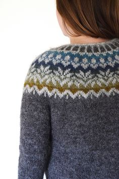 Ravelry: Lovewool-Knits' Fjord Sunrise - Afmæli by Védís Jónsdóttir Fair Isle Knitting Patterns, Knitting Charts, Knitting Designs, Free Knitting, Knitting Projects, Knitting Room, Sock Knitting, Knitting Tutorials, Vintage Knitting