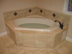 15 Interesting Whirlpool Corner Bathtub Picture Ideas #tilebathtub