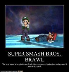 We know you did it, Luigi!