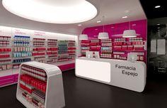 Pharmacy Design | Retail Design | Store Design | Pharmacy Shelving | Pharmacy Furniture | Farmacia Espejo – Adra