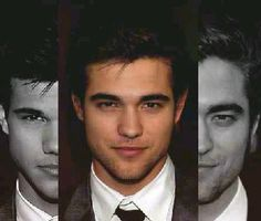 Robert Pattinson and Taylor Lautner mixed now that would be a very uber attractive specimen