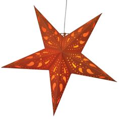 Mango Orange Star Lamps http://www.29june.com/index.php/paper-stars.html